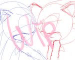 Uh Oh (WIP) (Sonadow) by chibisonic1234