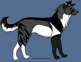 Custom Wolf for HGames6 by BlackWolf1112-ADOPTS
