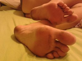 Soles after a Walk 1 by Whor4cle