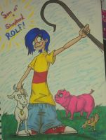 I AM ROLF!!! SON  OF A SHEPHERD!!! by kindalkaykay