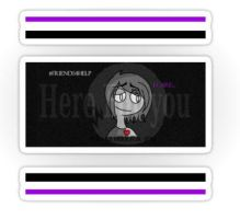 Friends4help Apparel and Stickers by KrazieKat2112
