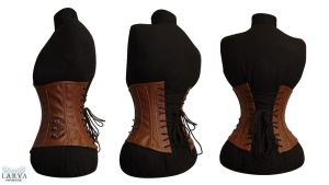 For SALE - Steampunk Corset Back by Larva by Eisfluegel