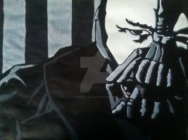 Tom Hardy (Bane) by TylerMulville