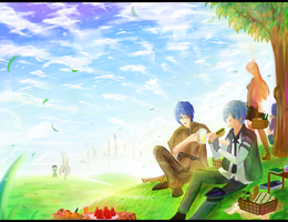 Windy Picnic by Bephilops