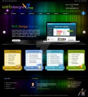 web design 4 me template by ramphool