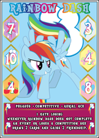 MLP:FiM Card Game: Rainbow Dash - I Hate Losing by PonyCardGame