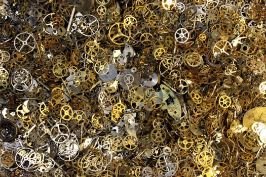 Steampunk Gears Parts Pile 1 by CatherinetteRings