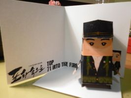 TOP 71 Into The Fire Papercraft by hoshiterasu