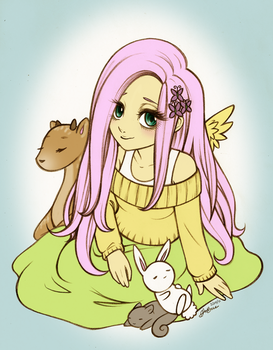 Fluttershy by Christinies