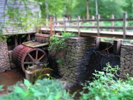 tilt-shift old mill by jbowersstudio