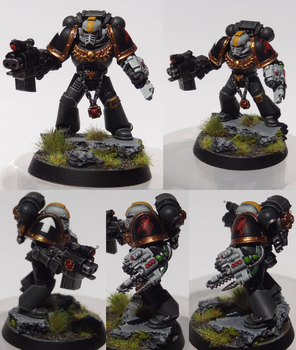 Red Scorpions Sergeant by TheEternalRanger