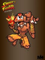 Street Fighter Goomba by MightyMusc