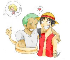 One Piece yaoi by misa-kawa
