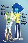 Peridot And Lapis as Rick and Morty by F1n4lW1sh