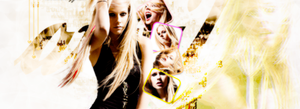 Avril Lavigne Facebook Cover PSD by selenaismyqueen