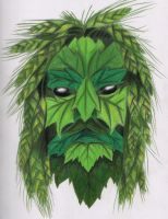 The green man by Forrestris