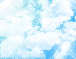 .:Cloud + Sparkle -- BG:. by MamuEmu