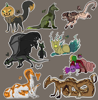 Halloween Auctions! (with icons!) CLOSED by iMonox
