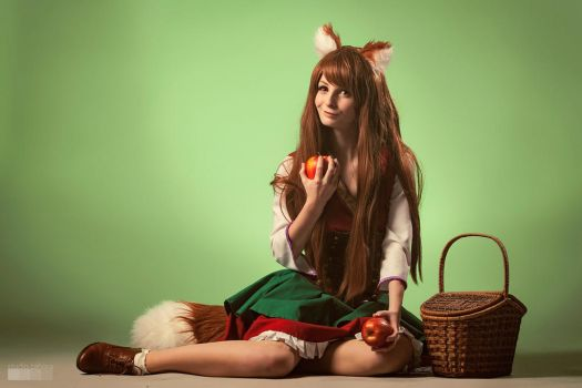 Holo from Spice and Wolf by LenaCosplayerCZ