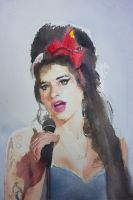 Amy Winehouse by W0ut