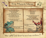 Music Meme - Beauty and Beast by M-a-y-a-l