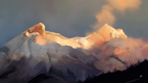 Landscape Study 2 by chadlindall