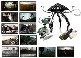 War of the Worlds thumbnails by Bawarner