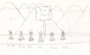 OLD ART - 1997 Fox Park by SorcererLance