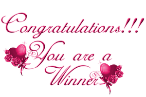 Congrats You are a Winner by Branka-Johnlockian