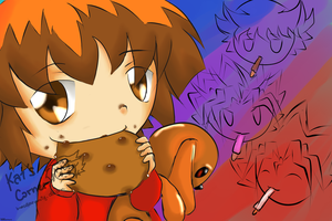 YGO Nursery - Judai Yuki by breezelessvanity