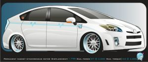 prius 'electric devil' by iamstryc9