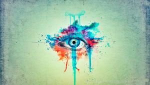 Wallpaper Ojo Abstracto by MeeL-Swagger