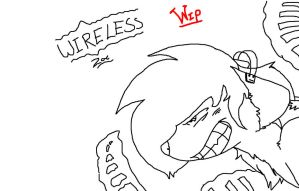 Wireless - Zac - WIP - Ms Paint. by Sniperisawesome