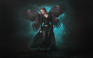 Dark Angel II by GeneRazART