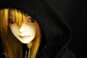 Black in Light II by AidaOtaku-BJD
