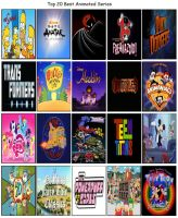 Top 20 Favorite Animated Series by Jdailey1991