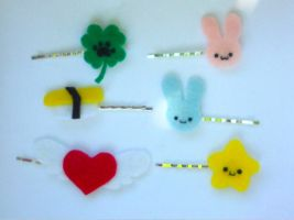 Hair Clips First Set by Love-Who