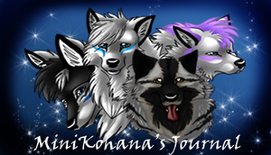 MiniKohana Journal Header by fenderbender368
