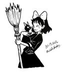 Inktober 11: Kiki and Jiji by xYaminogamex