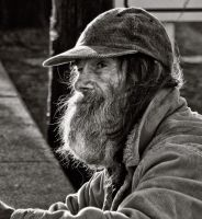 Homeless in San Francisco by Bartonbo