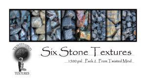 Twisted Mind 6 Stone Textures  Pack 2 by Textures-and-More