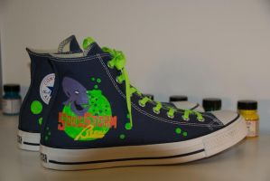 The Oddworld Converse by Tonks01