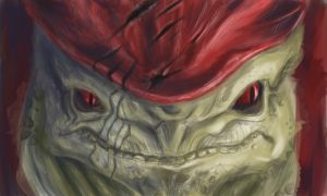 Urdnot Wrex by thundermistress