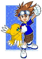 Digimon by Banzchan