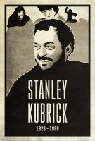 Stanley Kubrick by disgorgeapocalypse