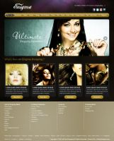 Enigma Shopping Website by beshoywilliam