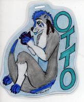 Otto Badge ~~Commission~~ by EyonSplicer
