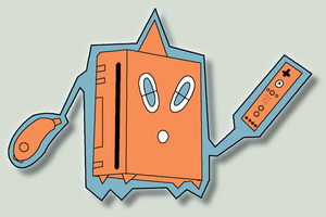 Wii Rotom by Eliw00d