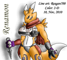 ..Renamon.. by 2-D-likespizza