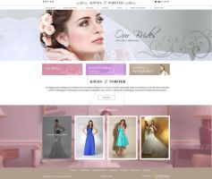 Bridal website design by fahadaman91